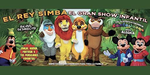 Espectáculo Infantil EL REY SIMBA Y SUS AMIGOS
