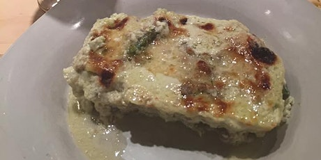 Homemade Lasagna with Asparagus and Sausages tickets