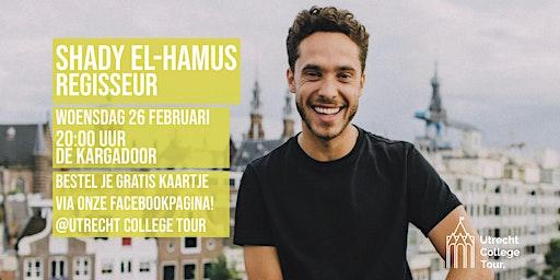 Shady El-Hamus bij Utrecht College Tour