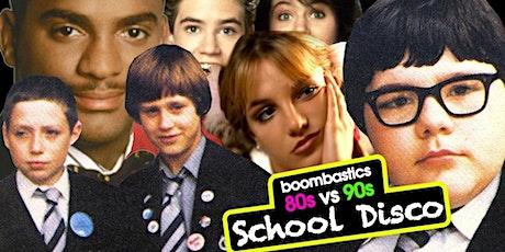 80s vs 90s School Disco tickets