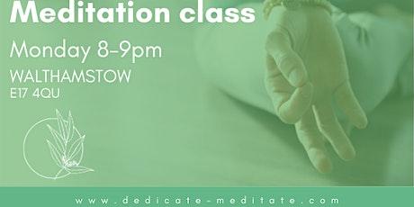 Meditation class in Walthamstow tickets