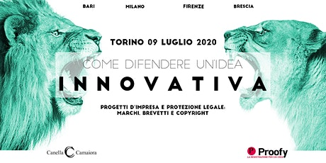 Come difendere un'idea innovativa® Tour 2020 - Torino tickets