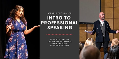 Introduction to Professional Speaking tickets