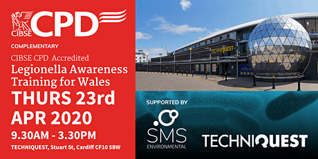 Legionella Awareness Training for Wales - CIBSE CPD Accredited tickets
