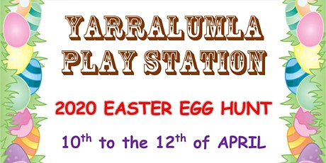 Yarralumla Play Station 2020 Easter Egg Hunt tickets