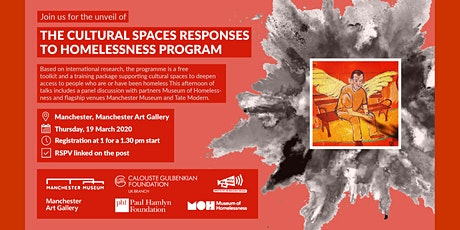 The cultural spaces responses to homelessness programme tickets