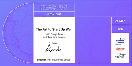 I-LEGAL CHAT: The Art to Start Up Well bilhetes