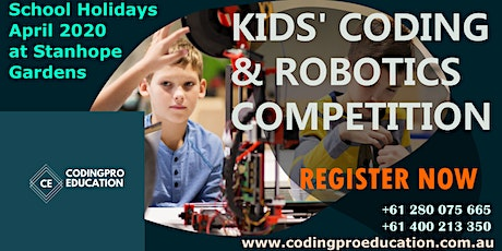 Kids Coding and Robotics Competition( Age group 9 -17 years old) tickets
