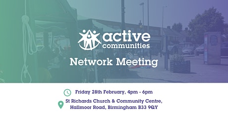 Local Community Action Network Meeting area 5 tickets