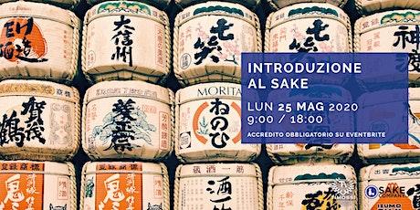 Introduzione al Sake Maggio 2020 - Genova biglietti