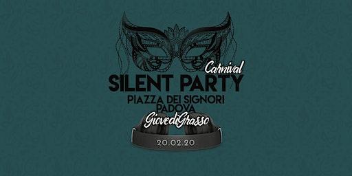 Carnival ☊ Silent Party® ☊ Padova Piazza dei Signori 20.02