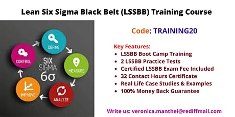 LSSBB Certification Course in Plano, TX tickets