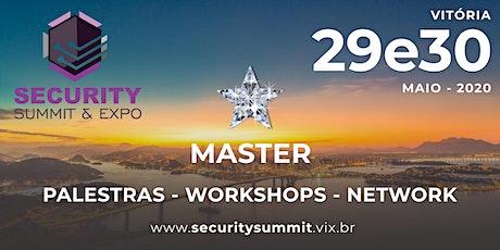 COTA PREMIER DE PATROCÍNIO SECURITY SUMMIT & EXPO ingressos