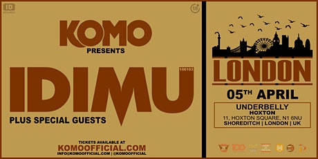 Komo Presents IDIMU - London tickets
