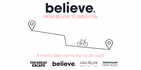 From Believe to Brighton 2020 tickets