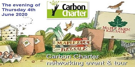 'Maple Farm' Carbon Charter evening networking event & tour tickets