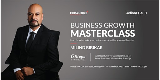 Business Growth Masterclass For  SME Business Owners