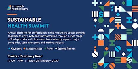 Sustainable Health Summit tickets