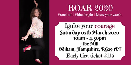 This is ME day: ROAR 2020 Find your confidence and courage workshop tickets