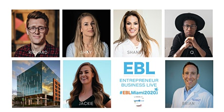 #EBLMiami2021 | Speakers, Networking, Charity Donations tickets
