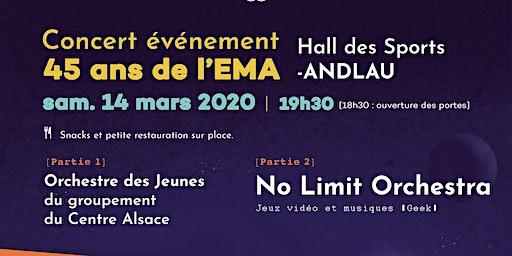 No Limit Orchestra - CONCERT EVENEMENT 45 ANS DE L'EMA