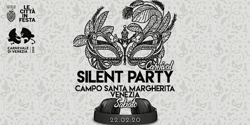 Carnival ☊ Silent Party® ☊ Venezia Campo Santa Margherita 22.02
