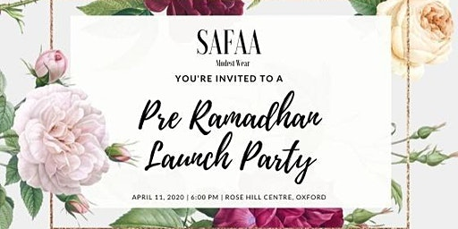 Safaa Modest Wear Pre Ramadhan Launch Party