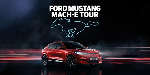 Evans Halshaw FordStore Glasgow Mustang Mach-E Tour