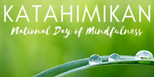 Katahimikan 2020 : A National Day of Mindfulness