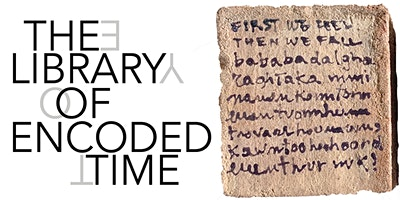 THE LIBRARY OF ENCODED TIME WITH THE ARTIST MICHELE CIACCIOFERA