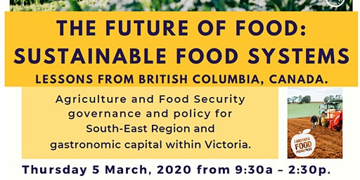 Future of Food: Sustainable Food Systems and Victoria's Gastronomic Capital