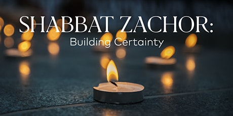 Shabbat Zachor (DE-EN) Tickets