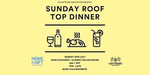 Roof Top Dinner & Drinks - Harrogate Home & Gift