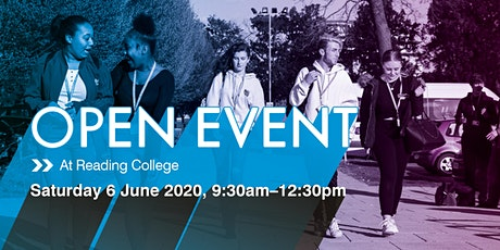Reading College Summer Open Event tickets
