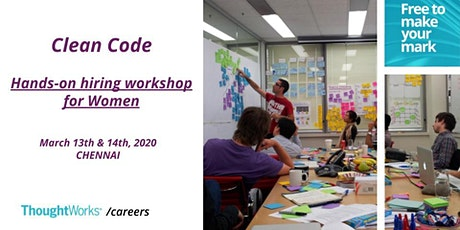 Women Dev Hiring Workshop - Clean Code tickets