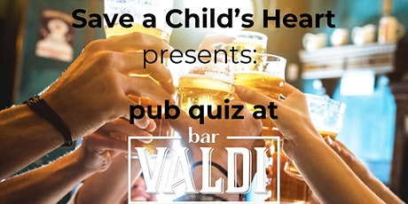 Pub quiz Save a Child's Heart tickets