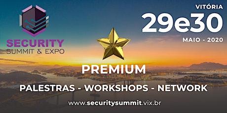 COTA PREMIUM DE PATROCÍNIO SECURITY SUMMIT & EXPO ingressos
