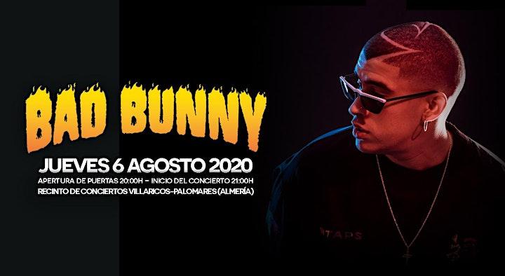 Imagen de BAD BUNNY en DREAMBEACH 2020 (Villaricos)