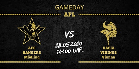 AFC RANGERS Mödling vs Dacia Vikings Tickets