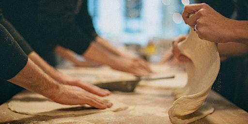 Workshop pizza bakken in de houtoven