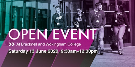 Bracknell and Wokingham College Summer Open Event tickets