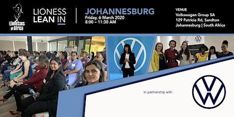 Lioness Lean In - Sandton, Johannesburg tickets