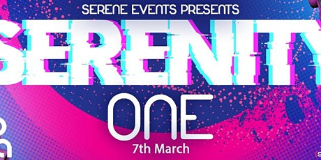 Serenity One - Trance Party tickets