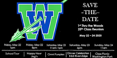 WWHS Class of 95 25th Reunion Weekend tickets