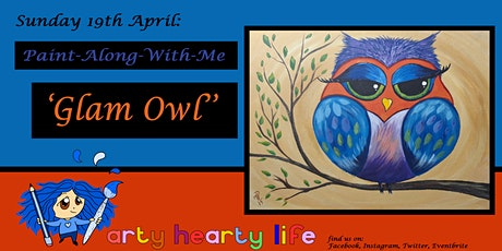 'Glam Owl' Paint-Along-With-Me @ YourSpace.Sutton tickets