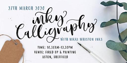 Beginner Modern Calligraphy Workshop - Brush & Ink