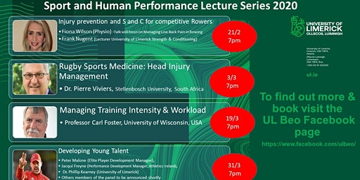Sport & Human Performance Spring Lecture Series- University of Limerick
