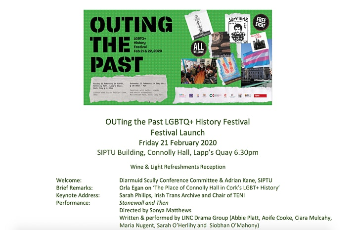 OUTing the Past Cork 2020 image