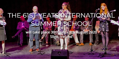 Back to the Well: Martin Dyar Poetry Workshop Yeats Summer School 2020 tickets