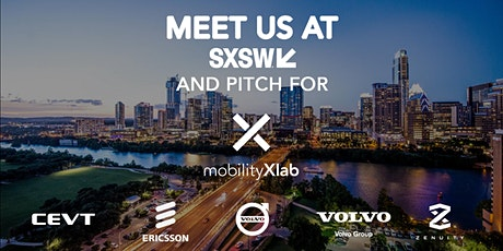 Startup Pitch Mobility w  CEVT, Ericsson, Volvo Cars, Volvo Group & Zenuity tickets